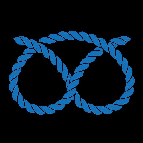 Blue knot favicon